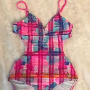 Kids one piece swim suit